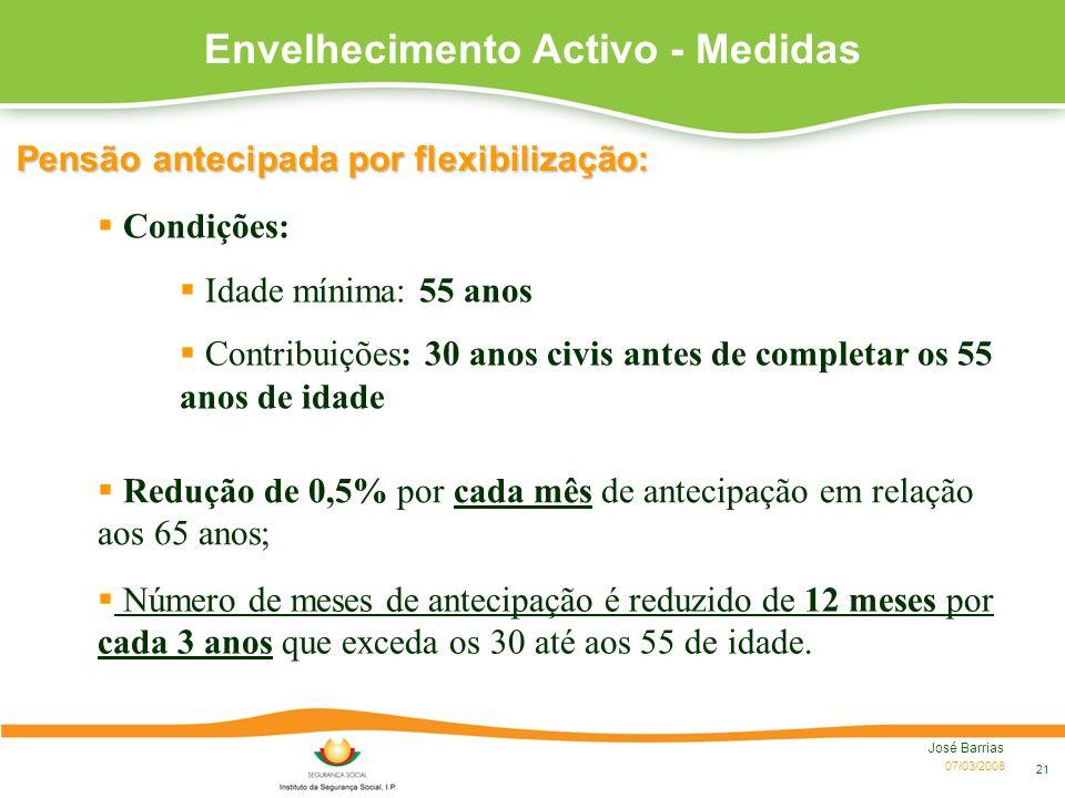 Envelhecimento Activo - Medidas