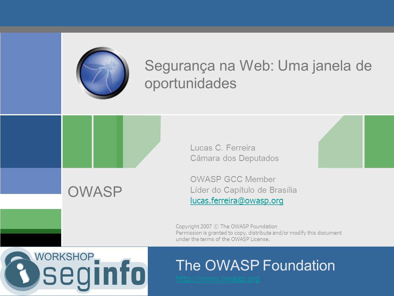 Segurança na Web: Uma janela de oportunidades
