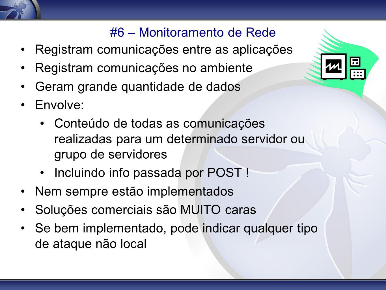 #6 – Monitoramento de Rede