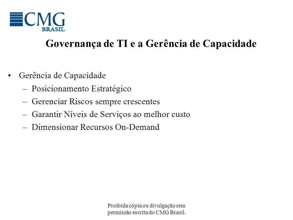 Governança de TI e a Gerência de Capacidade