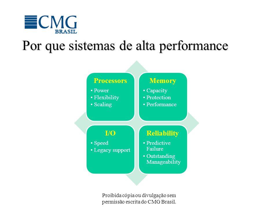 Por que sistemas de alta performance