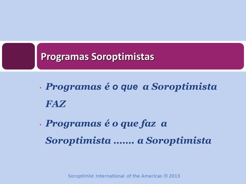 Programas Soroptimistas