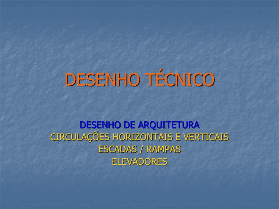 DESENHO TÉCNICO DESENHO DE ARQUITETURA