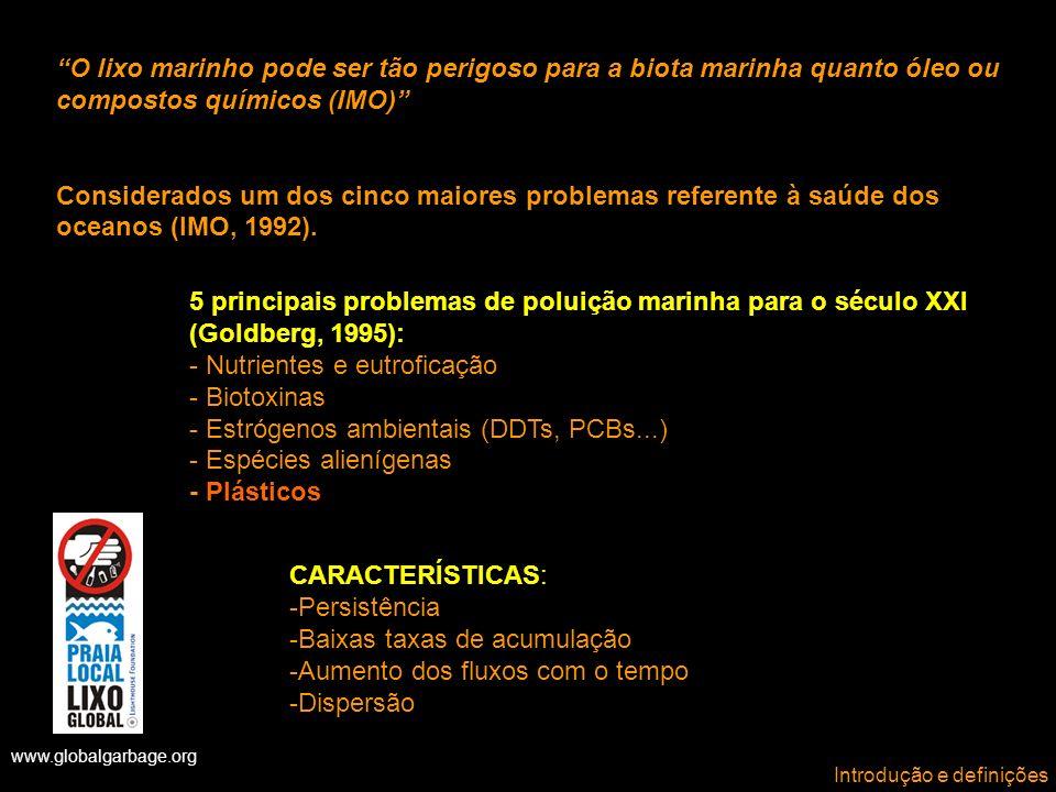 - Nutrientes e eutroficação - Biotoxinas