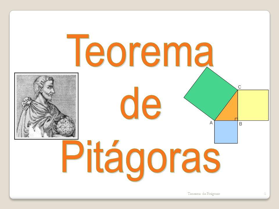 Teorema de Pitágoras Teorema de Pitágoras