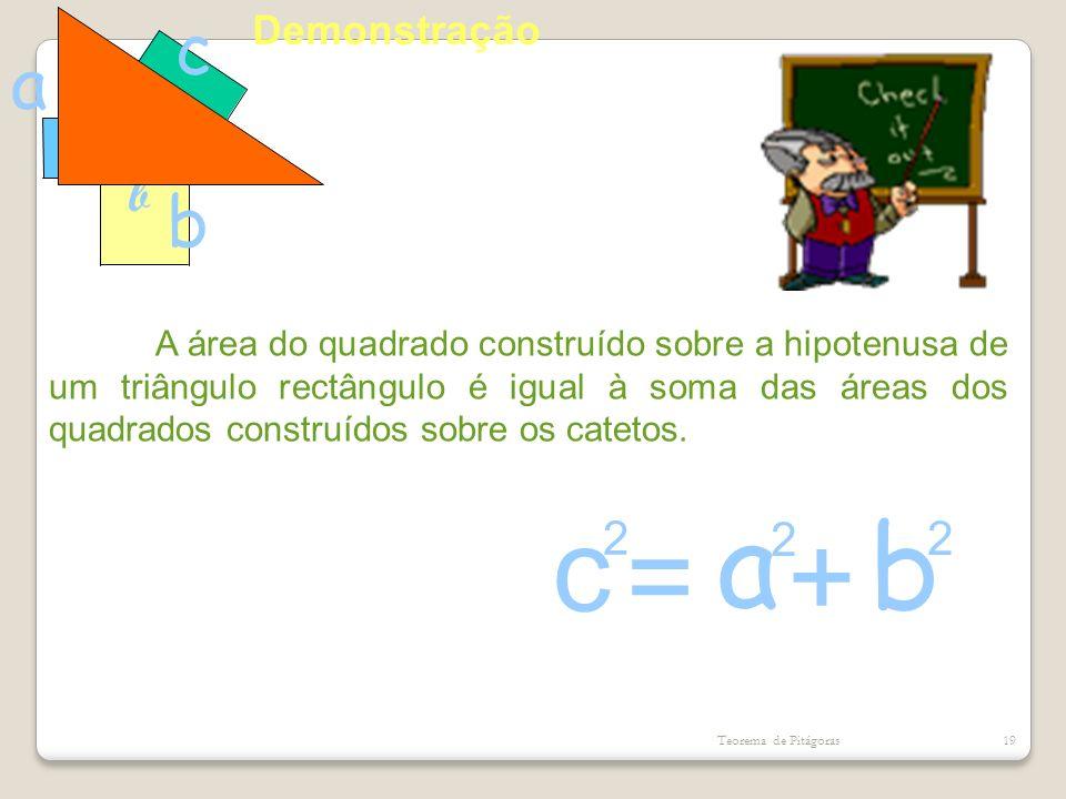 c a b = + c a b c a b 2 2 2 Demonstração