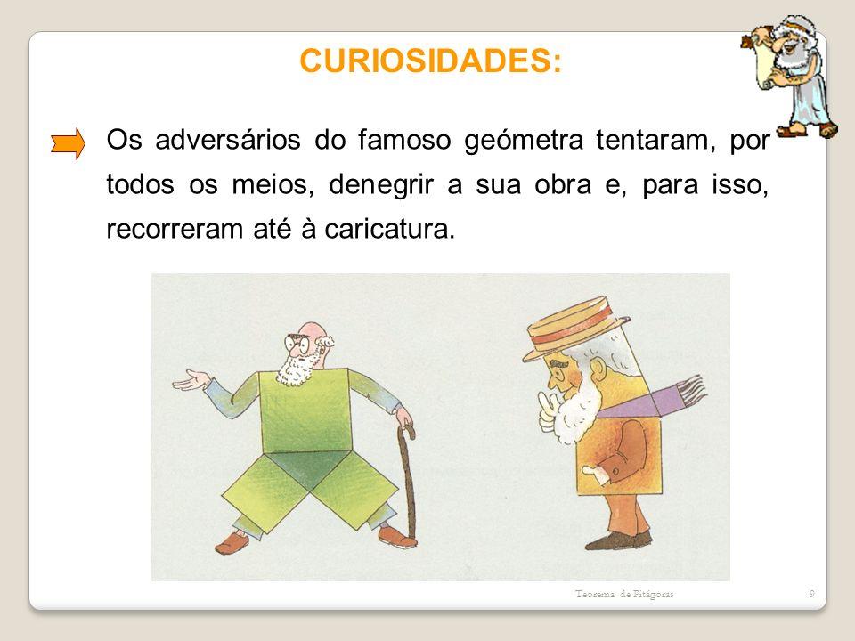 CURIOSIDADES:Os adversários do famoso geómetra tentaram, por todos os meios, denegrir a sua obra e, para isso, recorreram até à caricatura.