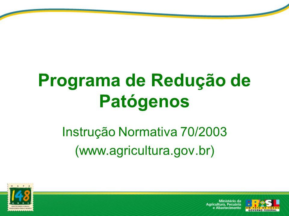 Programa de Redução de Patógenos