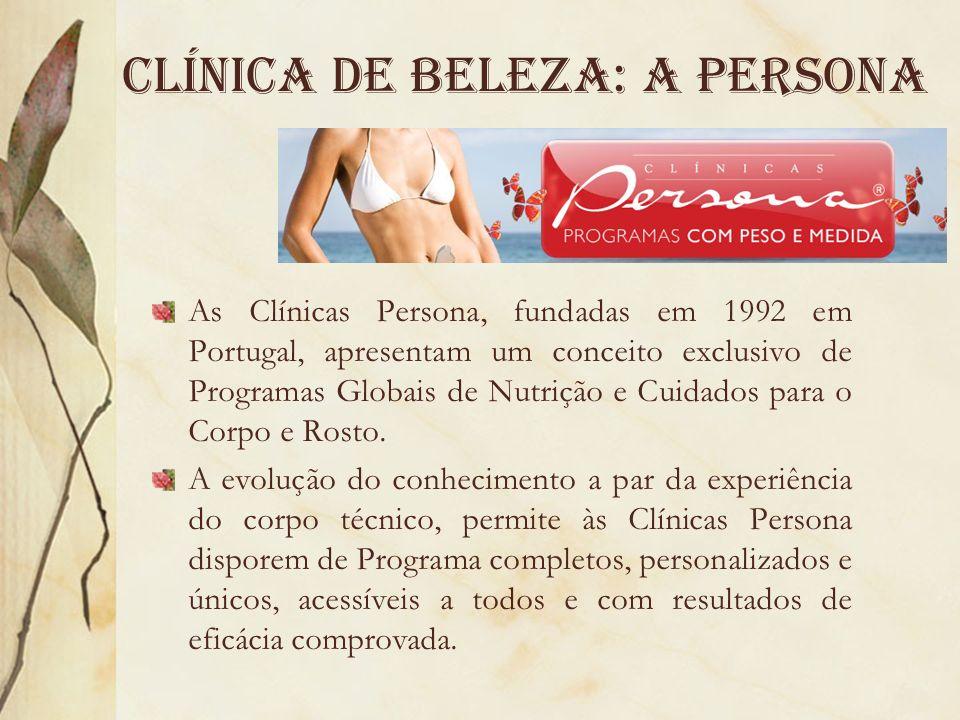 Clínica de beleza: a persona