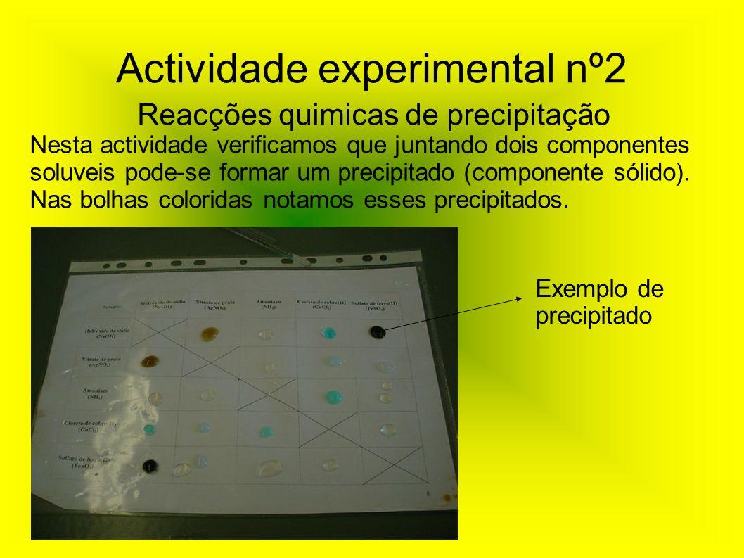 Actividade experimental nº2
