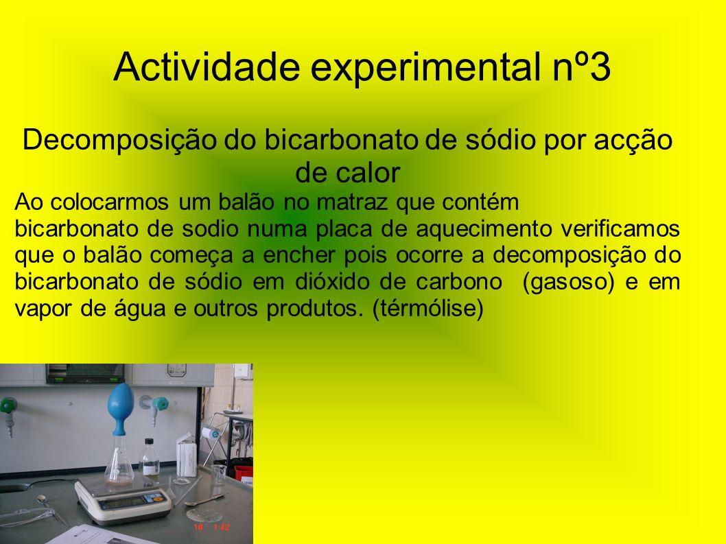 Actividade experimental nº3
