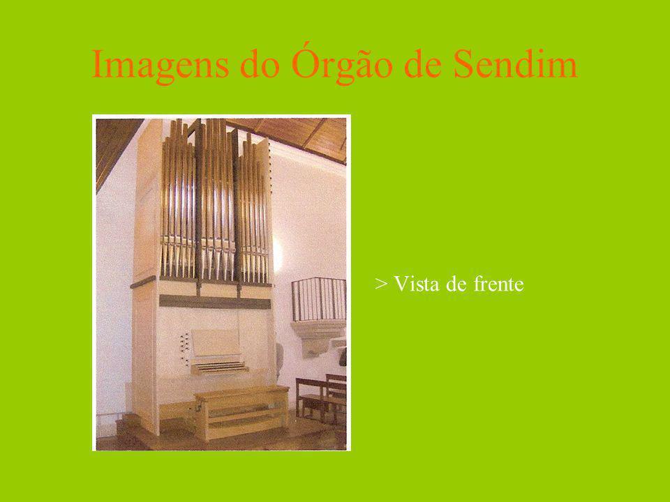 Imagens do Órgão de Sendim