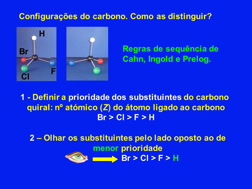Configurações do carbono. Como as distinguir