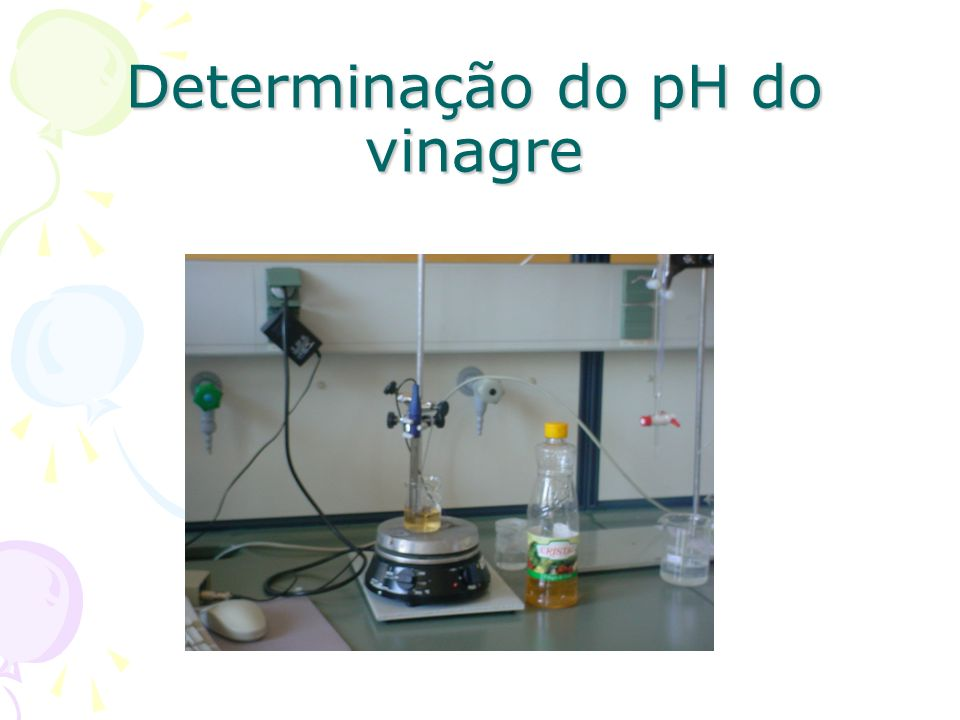 Determinação do pH do vinagre