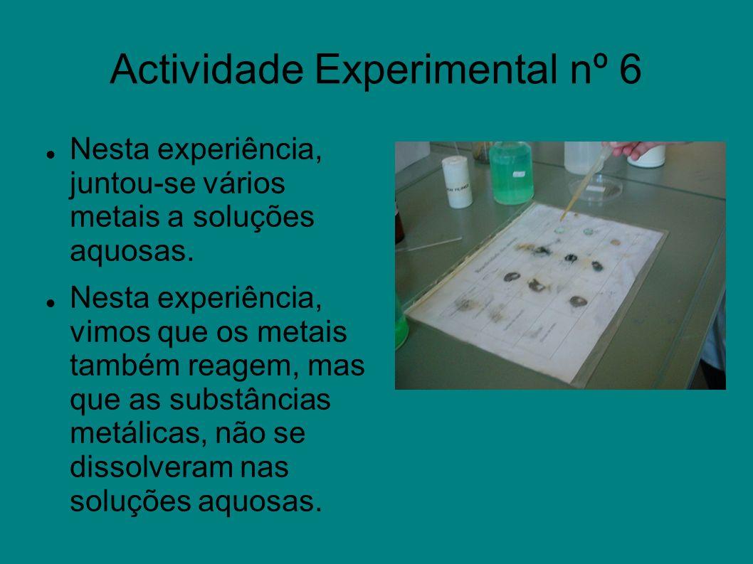 Actividade Experimental nº 6