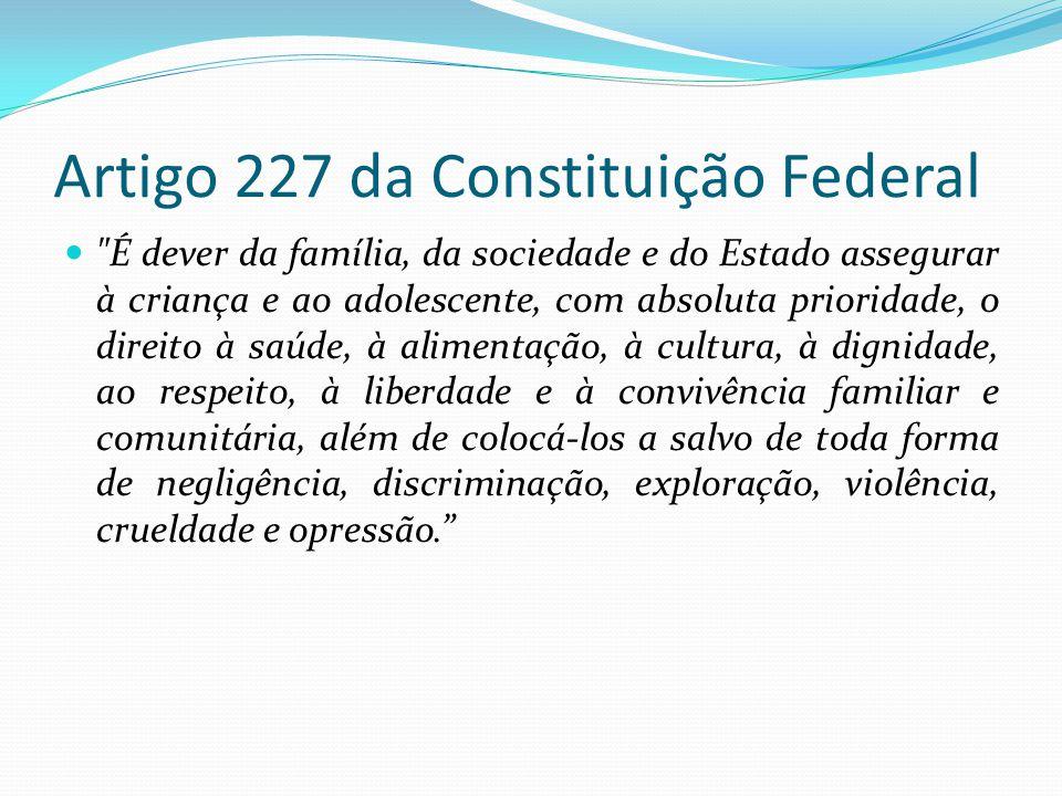 Constituicao federal artigo 227