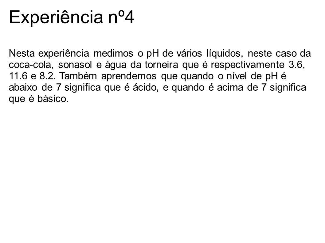 Experiência nº4