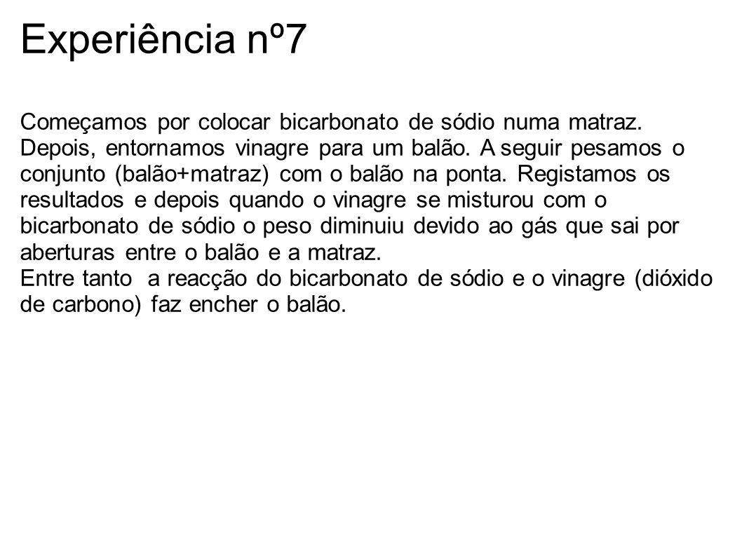 Experiência nº7