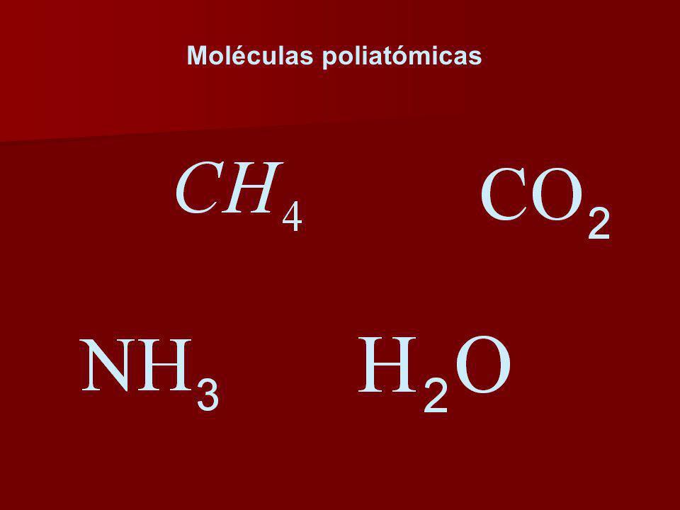 Moléculas poliatómicas