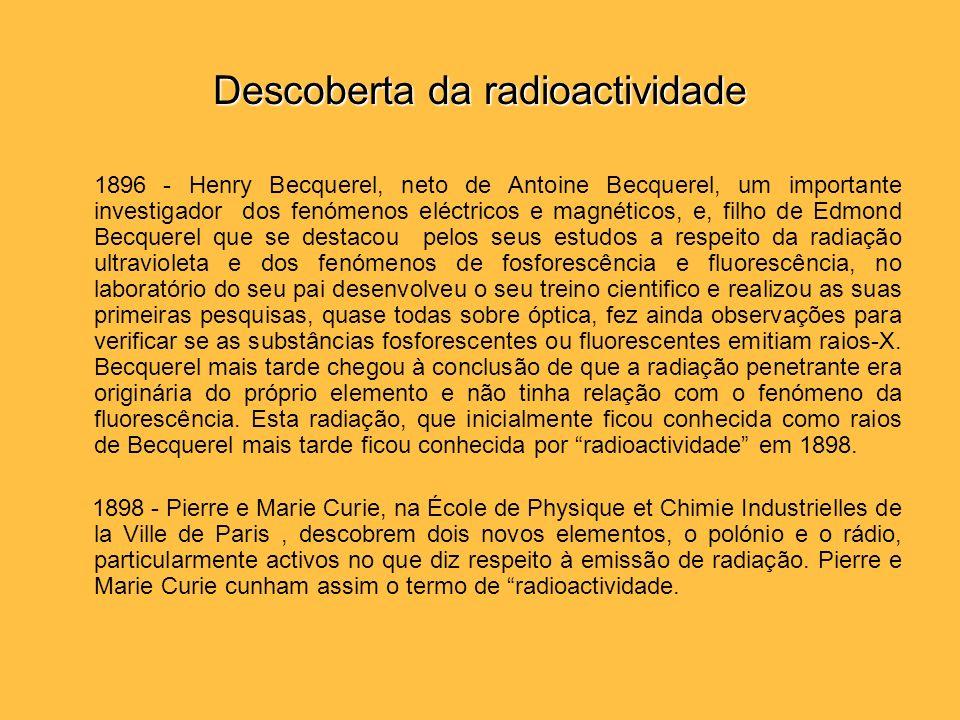 Descoberta da radioactividade