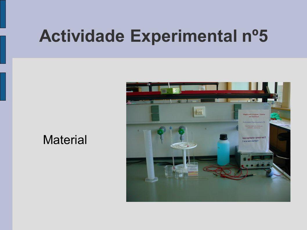 Actividade Experimental nº5