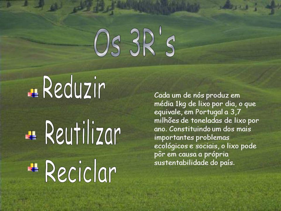 Os 3R s Reduzir Reutilizar Reciclar