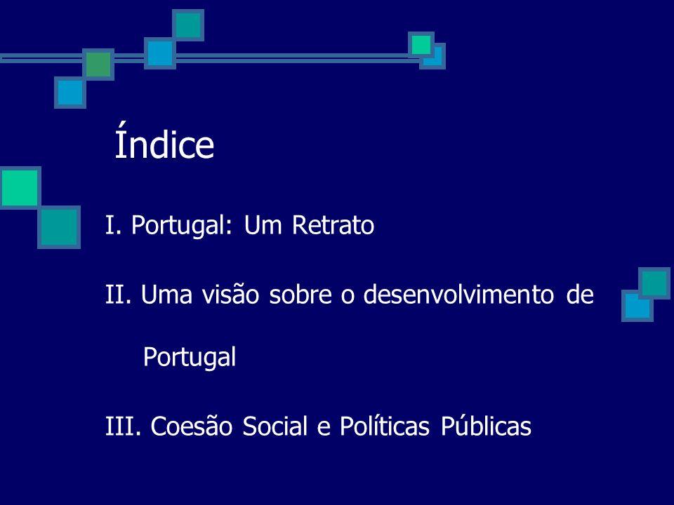 Índice I. Portugal: Um Retrato