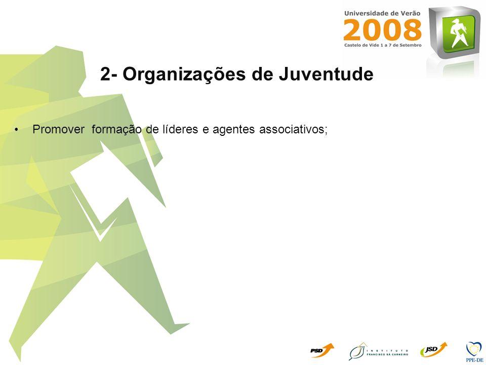 2- Organizações de Juventude