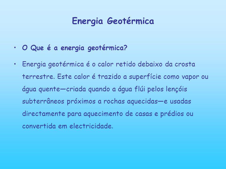 Energia Geotérmica O Que é a energia geotérmica