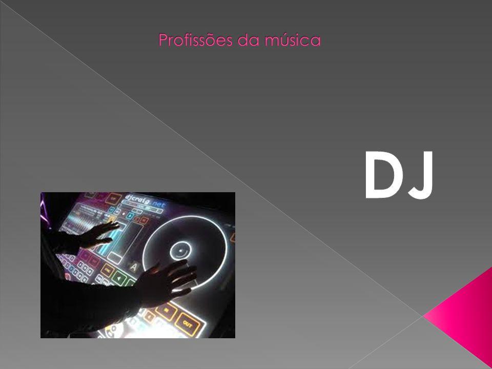 Profissões da música DJ