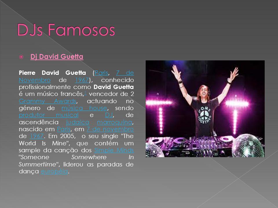 DJs Famosos Dj David Guetta