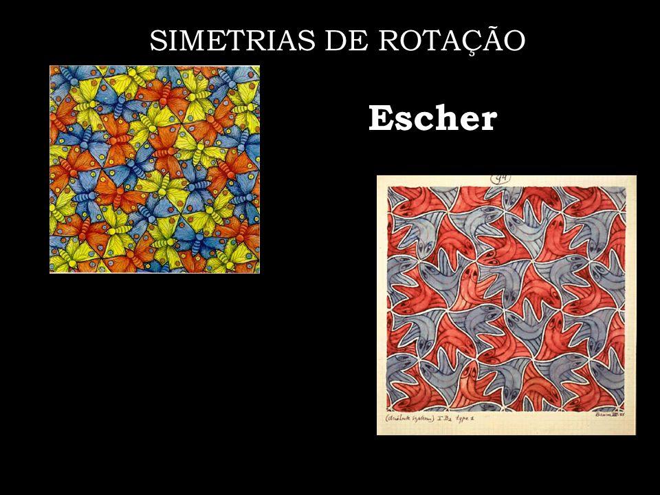 SIMETRIAS DE ROTAÇÃO Escher
