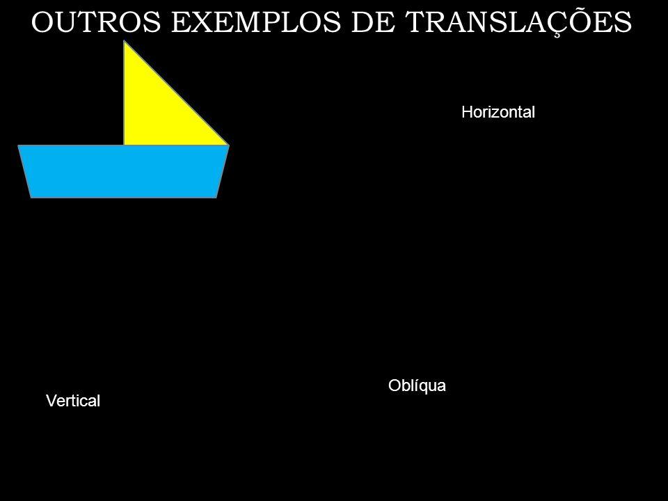 OUTROS EXEMPLOS DE TRANSLAÇÕES