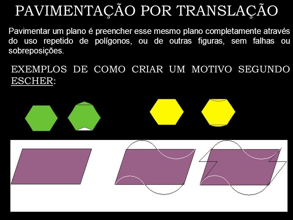 PAVIMENTAÇÃO POR TRANSLAÇÃO
