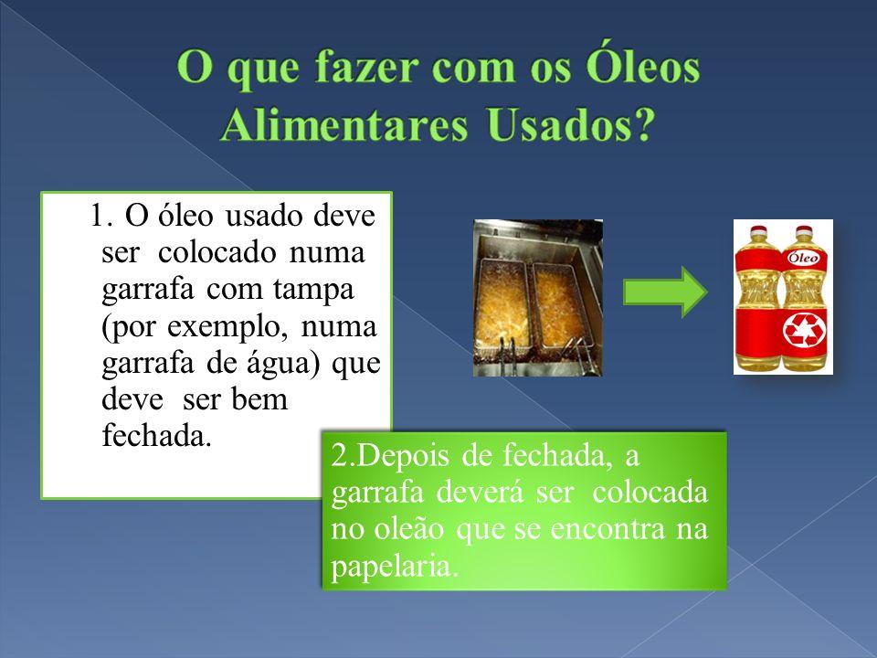 O que fazer com os Óleos Alimentares Usados