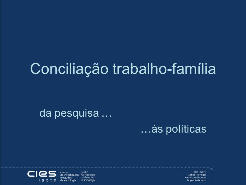 Conciliação trabalho-família