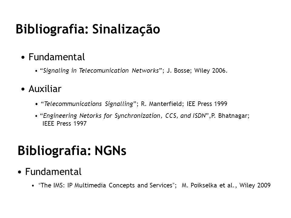 Bibliografia: Sinalização
