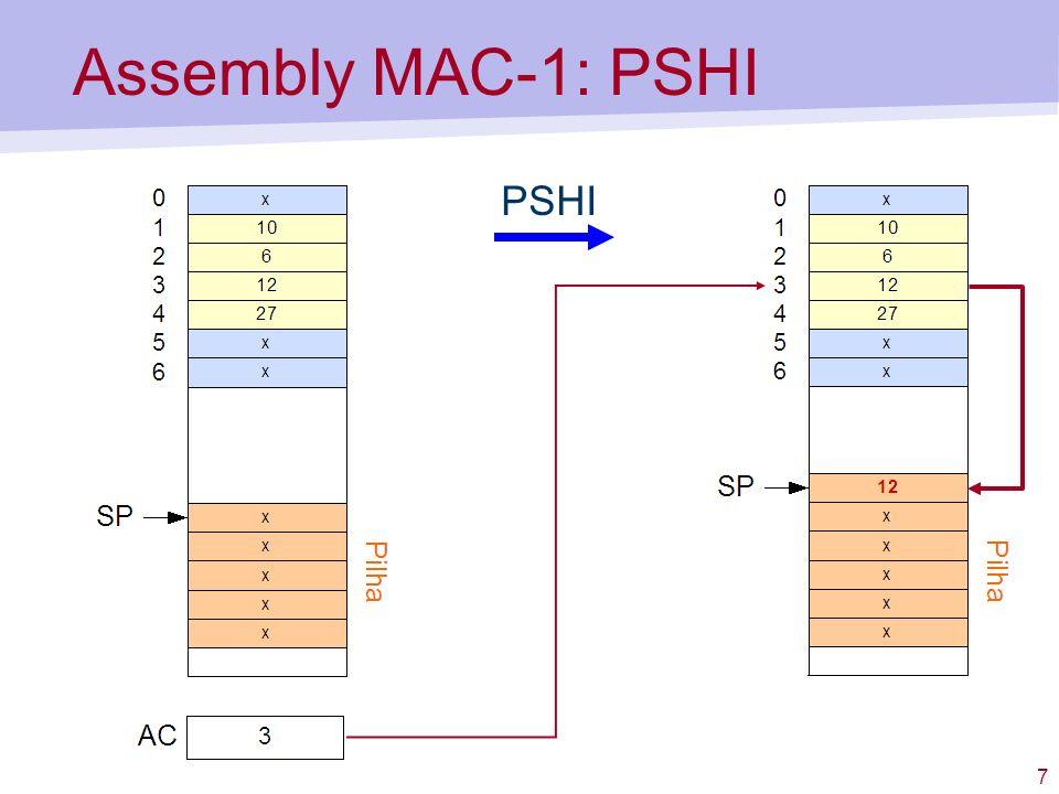 Assembly MAC-1: PSHI PSHI