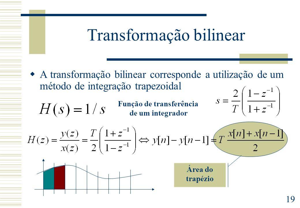 Transformação bilinear