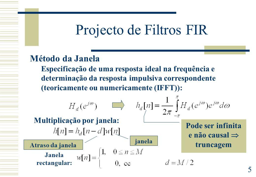 Projecto de Filtros FIR