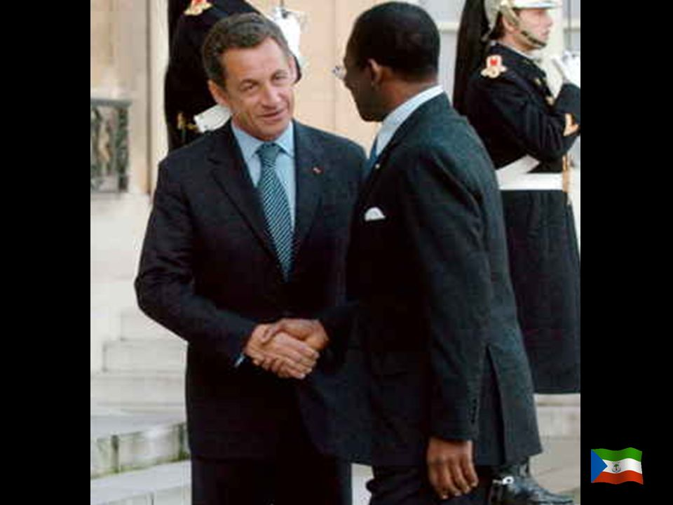 Guinea Ecuatorial es víctima de la maldición del petróleo, y como puedes imaginar, estados como China, U.S.A.