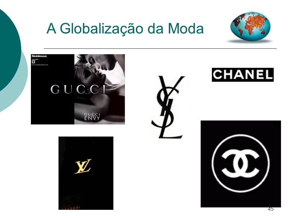 A Globalização da Moda EM QUALQUER CAPITAL/GRANDE CIDADE - AS MESMAS MARCAS, O MESMO LUXO.