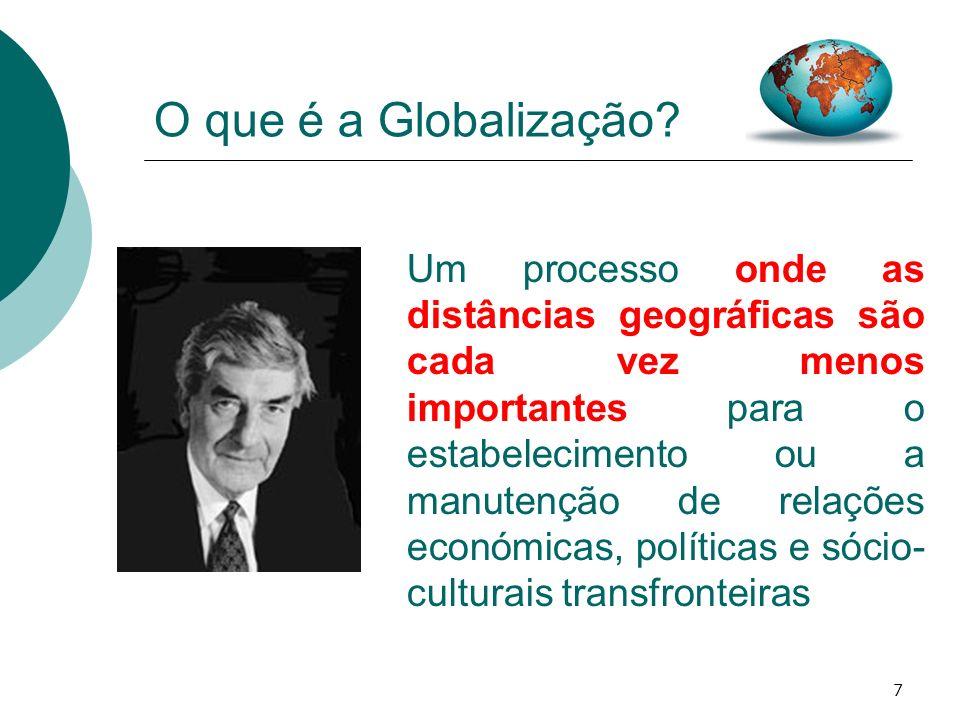 O que é a Globalização