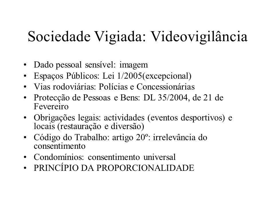 Sociedade Vigiada: Videovigilância