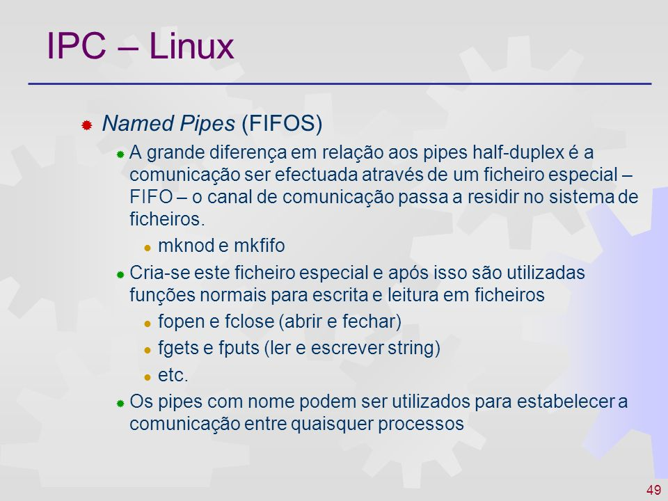 IPC – Linux Named Pipes (FIFOS)
