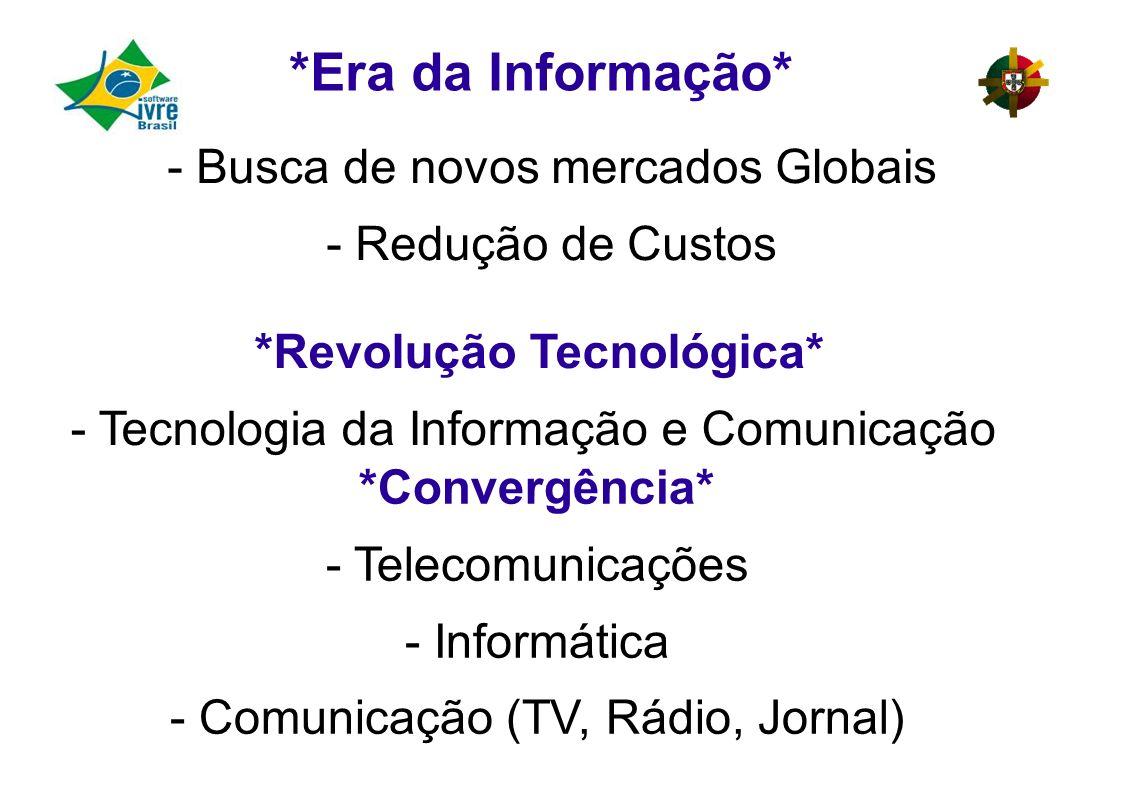 *Revolução Tecnológica*