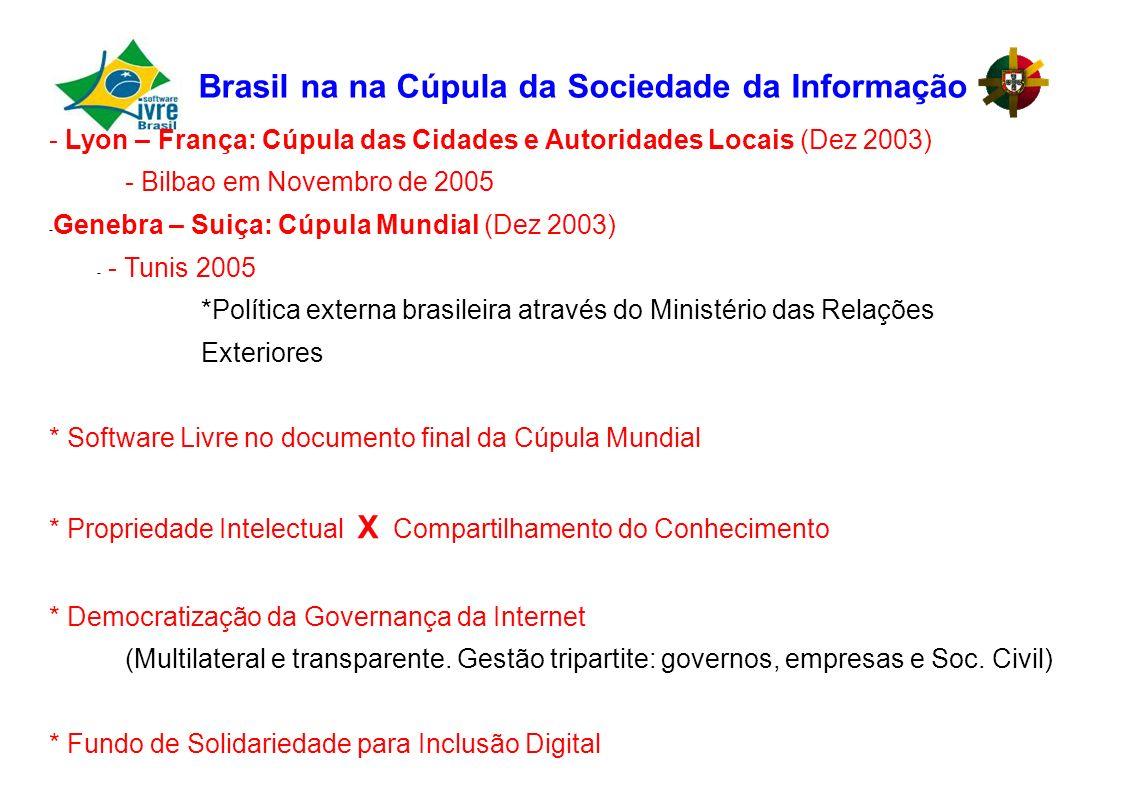 Brasil na na Cúpula da Sociedade da Informação