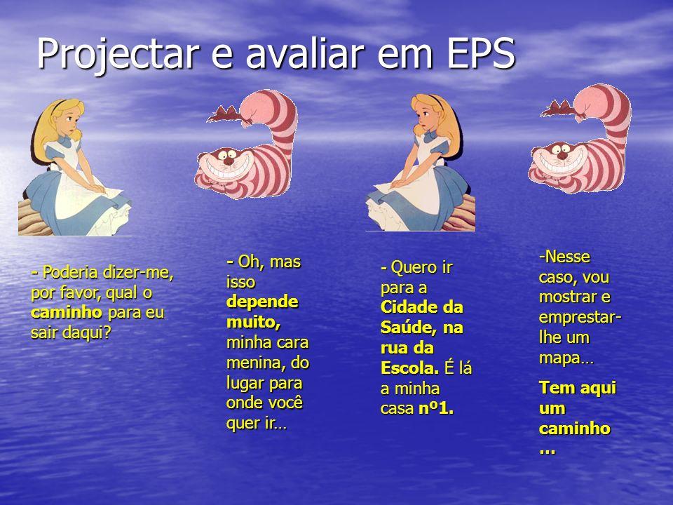 Projectar e avaliar em EPS