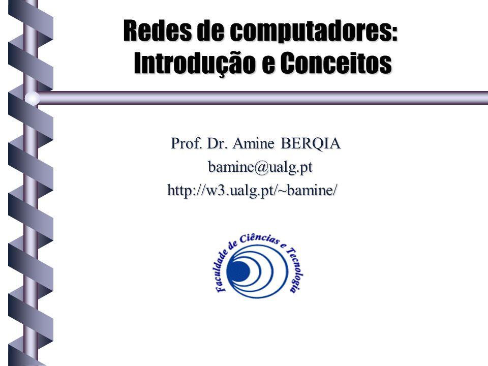 Redes de computadores: Introdução e Conceitos