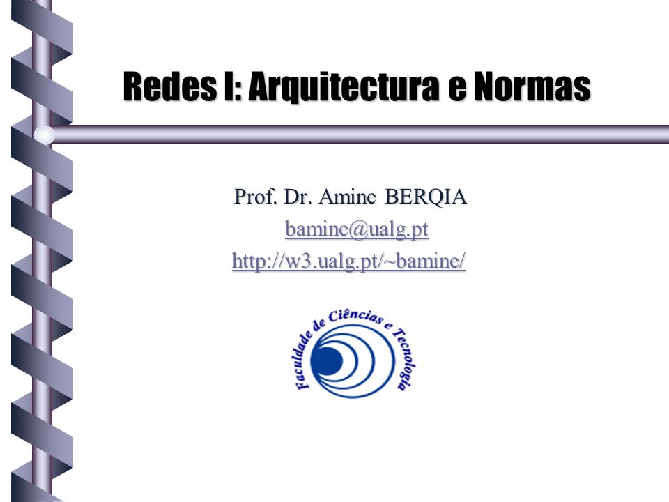 Redes I: Arquitectura e Normas